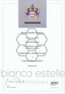 Certificates & Qualifications
